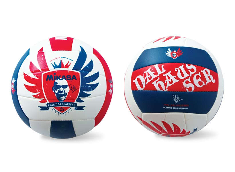 Front & Side view of ball