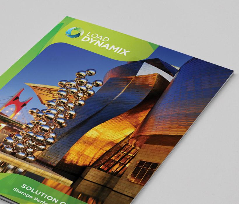 Load DynamiX Brochure design by Bob Burks