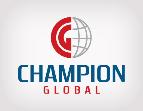 Champion Global logo by Bob Burks