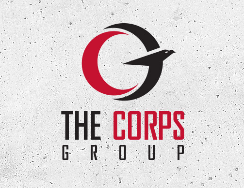 Corps Group logo by Bob Burks