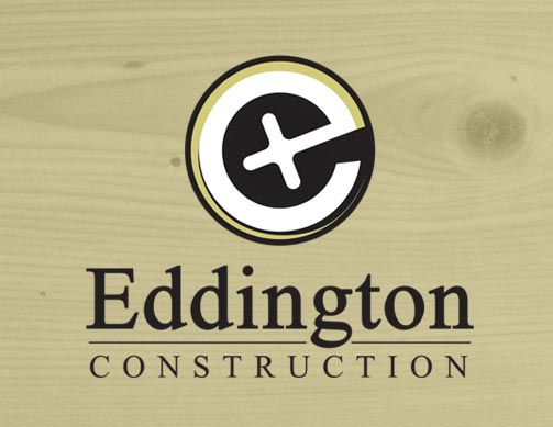 Eddington Construction logo by Bob Burks