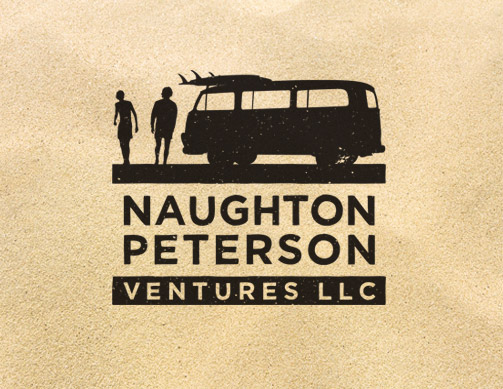 Naughton Peterson logo by Bob Burks