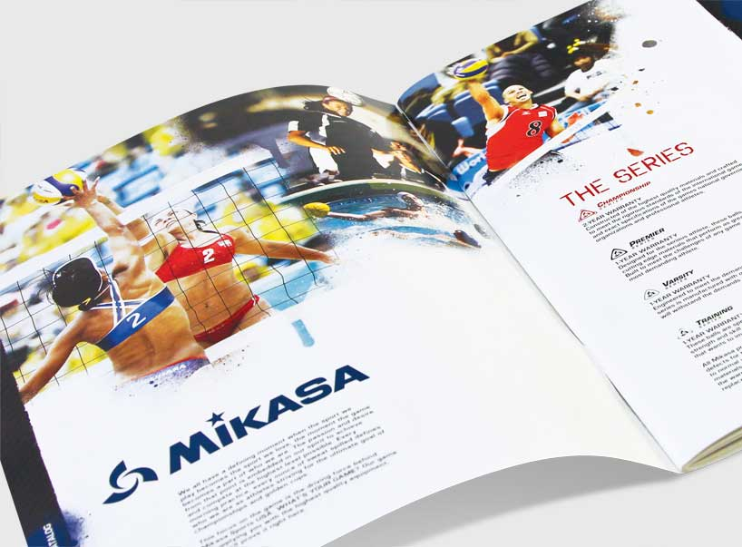 Mikasa Catalog design by Bob Burks